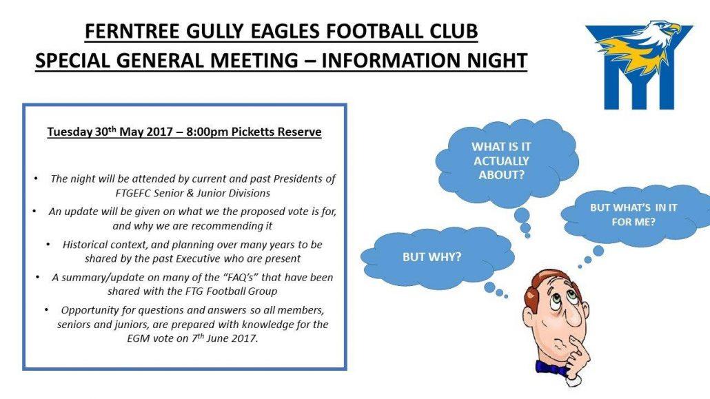 EGM Information Night